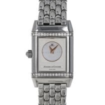 Jaeger-LeCoultre Reverso Duetto Steel 21mm Silver Arabic numerals United States of America, Maryland, Baltimore, MD