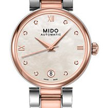 Mido Baroncelli II M0222072211610 New Steel Automatic