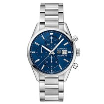 TAG Heuer CBK2112.BA0715 Steel 2019 Carrera Calibre 16 41mm new