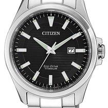 Citizen Titanio 43mm Cuarzo BM7470-84E nuevo