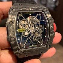 Richard Mille Carbon 49.9mm Armare manuala RM035 folosit