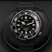 Seiko Marinemaster Steel 50mm Black United States of America, California, Huntington Beach