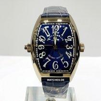 Franck Muller Secret Hours White gold 48.5mm Blue