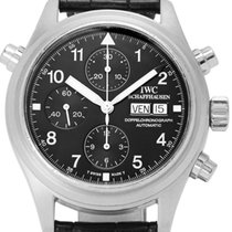 IWC Platinum Automatic 42mm pre-owned Pilot Double Chronograph