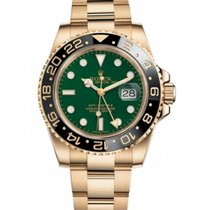 Rolex 116718 Yellow gold 2010 GMT-Master II 40mm pre-owned United States of America, Florida, MIAMI