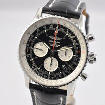 Breitling Navitimer Rattrapante Steel 45mm Black United States of America, Ohio, Mason