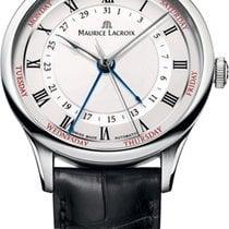 Maurice Lacroix Masterpiece Cinq Aiguilles neu 2021 Automatik Uhr mit Original-Box mp6507-ss001-112