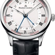 Maurice Lacroix Masterpiece Cinq Aiguilles Steel 40mm White United States of America, New York, Airmont