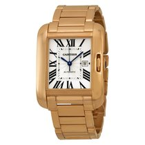 Cartier Tank Anglaise 18K Solid Rose Gold Automatic