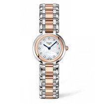 Longines Primaluna Mother Of Pearl Dial Two-tone Stainless Steel