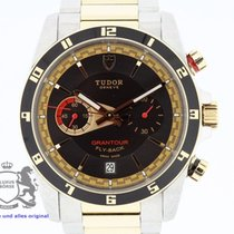 Tudor Grantour Chrono Fly-Back 20551N Box & Papers  2013 Rose...