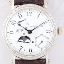 Patek Philippe 35mm Automatic 1997 pre-owned Complications (submodel) White
