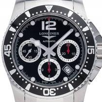 Longines Hydro Conquest Stahl Automatik Chronograph Armband...