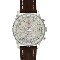 Breitling Montbrillant 01 pre-owned 40mm Chronograph Date Leather