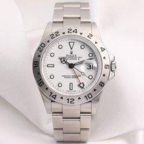 Rolex Discontinued Rolex Explorer II 16570 White Dial 2008...