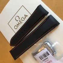Omega Planet Ocean 22mm Black  Strap and 20mm  Buckle