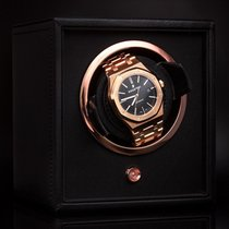 """Watches of Wales - """"WOLF"""" - Luxury Rose Gold And Leather Watch..."""