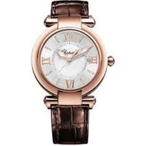 Chopard Imperiale Rose gold 36mm Silver Roman numerals