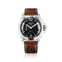 Panerai Luminor 1950 GMT 8 Days Accio Dot Dial Ref. PAM00233...