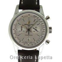 Breitling Transocean Chronograph 38 Steel 38mm