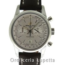 Breitling Transocean Chronograph 38 Stahl 38mm