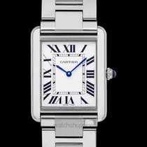 Cartier Steel 27.4mm Quartz W5200014 new
