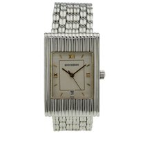 Boucheron 24mm Quartz pre-owned Champagne