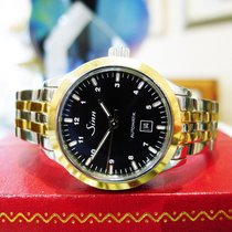 Sinn 456 St Gg I Stainless Steel Gold Automatic Ladies Watch