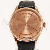 Rolex Cellini Time Oro rosado 39mm Rosa Sin cifras