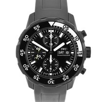 IWC Aquatimer Chronograph pre-owned 44mm White Date Rubber