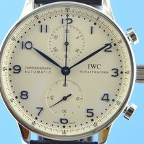 IWC Portugieser Chronograph Stahl 40.9mm Silber Deutschland, Berlin