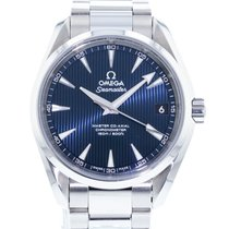 Omega Seamaster Aqua Terra Steel 38.5mm Blue United States of America, Georgia, Atlanta