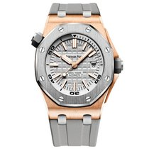 Audemars Piguet Royal Oak Offshore Diver Rose gold 42mm Grey United States of America, Iowa, Des Moines