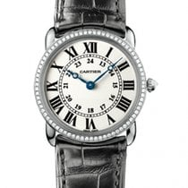 Cartier Ronde Louis Cartier Yellow gold 29mm Silver United Kingdom, Essex