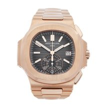 Patek Philippe 5980/1R-001 Rose gold 2015 Nautilus 40.5mm pre-owned United Kingdom, Bishop's Stortford