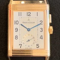 Jaeger-LeCoultre Rose gold Manual winding Arabic numerals 26mm pre-owned Reverso Duoface