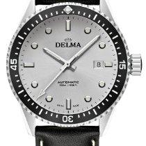 德爾瑪 鋼 42mm 自動發條 Cayman Automatic 41601.706.6.061 新的