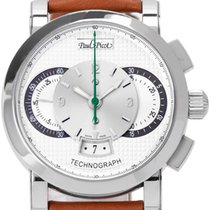 Paul Picot Technograph Stahl 43mm