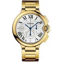 Cartier Ballon Bleu 42mm pre-owned 47mm Silver Yellow gold