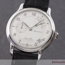 Zenith Elite Platina 36mm Srebro