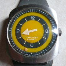 Longines Record pre-owned 35mm Yellow