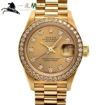 Rolex Lady-Datejust Oro amarillo 26mm Champán