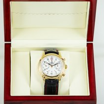 Claude Meylan Or rose 39mm Remontage manuel Valjoux 71 occasion