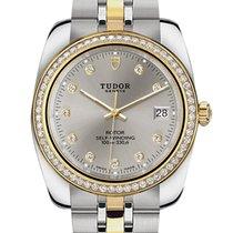 Tudor Ouro/Aço 38mm 21023-0006 novo