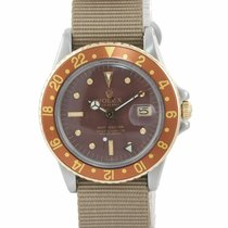 Rolex 1675 Gold/Steel GMT-Master 40mm pre-owned United States of America, New York, Huntington