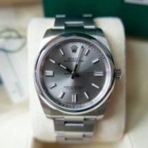 Rolex Oyster Perpetual 36 pre-owned 36mm Grey Steel