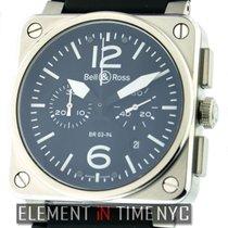 Bell & Ross BR 03-94 Chronographe Steel 42mm Black United States of America, New York, New York