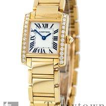 Cartier Tank Française new Quartz Watch with original box and original papers CRWE1001R8