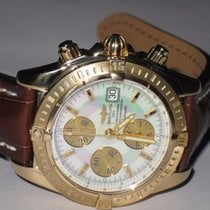 Breitling Chronomat Evolution Oro amarillo 44mm Madreperla Sin cifras