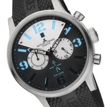 Jacques Lemans Sport Porto Steel 48mm Black Arabic numerals
